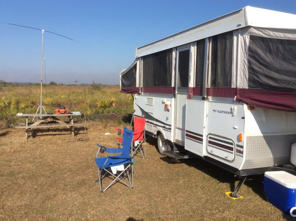 N4KWR Portable at Kissimmee Prairie State Park